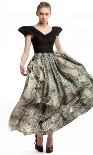 Длинное платье ЛБ011-1
