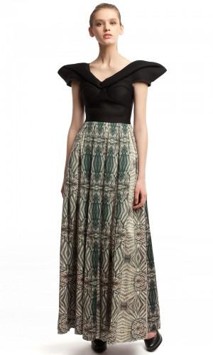 Длинное платье ЛБ011-2