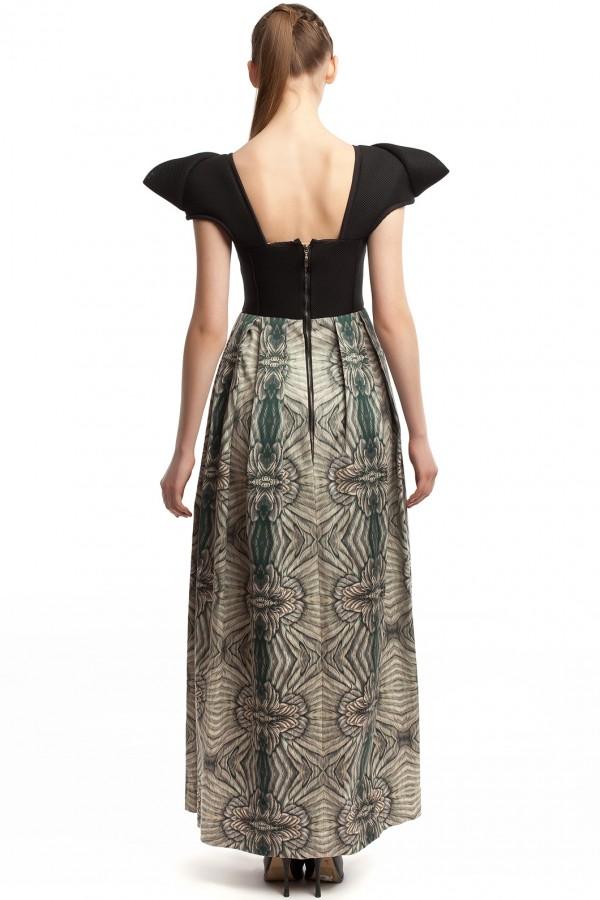 Длинное платье ЛБ011-3