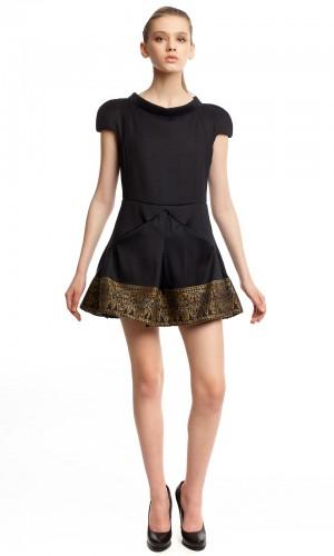 Маленькое черное платье БК004-01-1