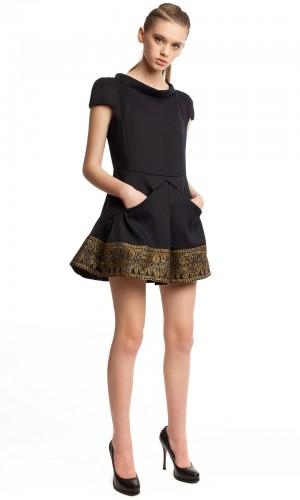 Маленькое черное платье БК004-01-2