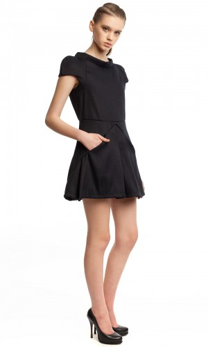 Маленькое черное платье БК004-02-2