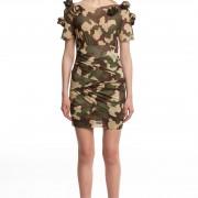 Мини-платье камуфляж БТ002-1
