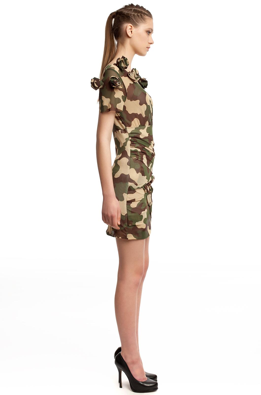 Купить Камуфляжное Платье