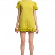 Мини-платье с отделкой БТ010-1