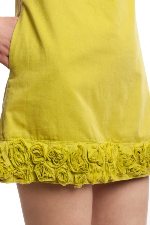 Мини-платье с отделкой БТ010-4