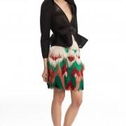 Мини-юбка с бахромой ЛБ016-1