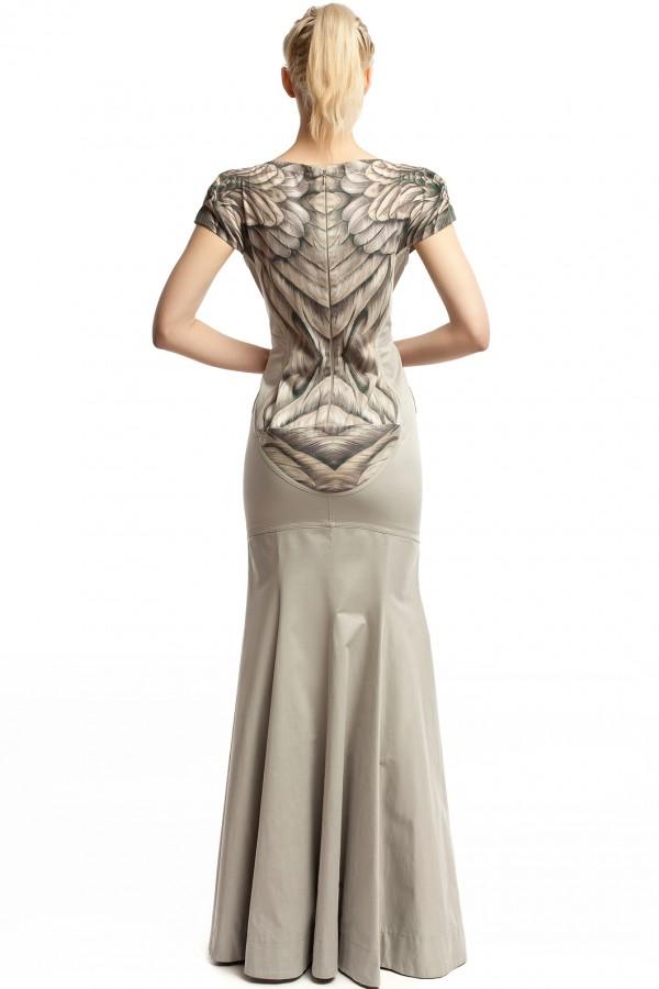 Платье длинное Сирена ЛБ007-3