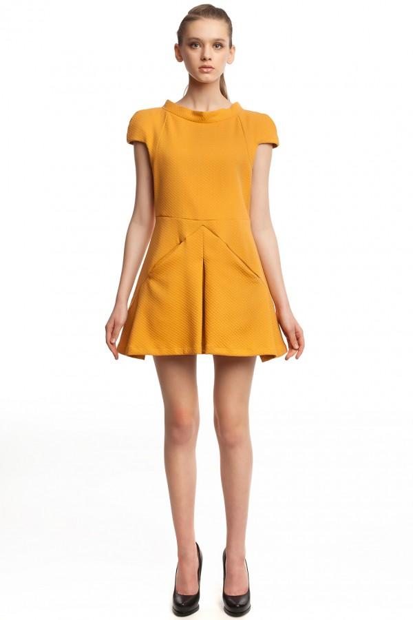 Платье оригами хлопок БК004-3-1