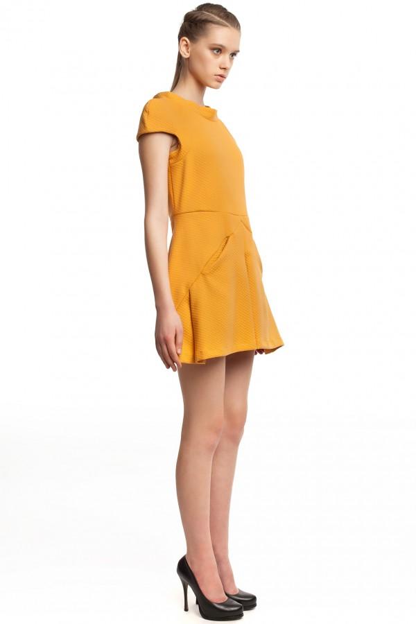 Платье оригами хлопок БК004-3-2