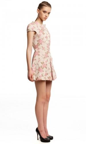 Платье оригами хлопок БК004-4-2