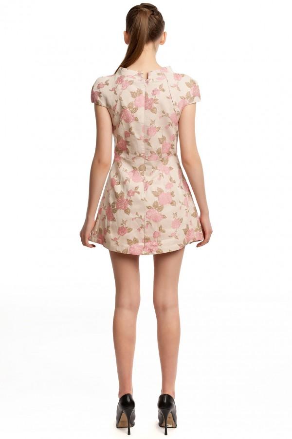 Платье оригами хлопок БК004-4-3