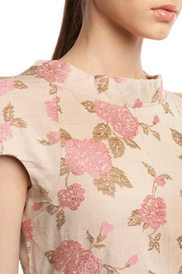 Платье оригами хлопок БК004-4-4