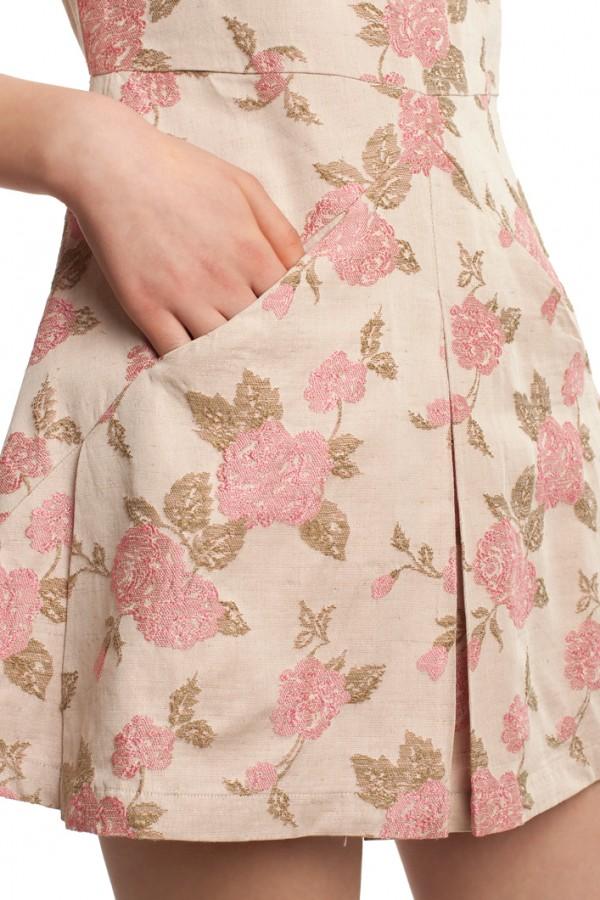 Платье оригами хлопок БК004-4-5