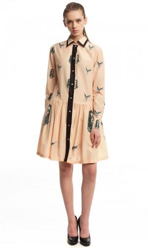Платье-рубашка ЛБ001-1