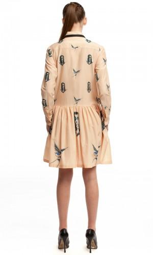 Платье-рубашка ЛБ001-2