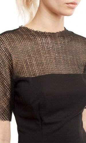 Черное платье ЛБ010-3