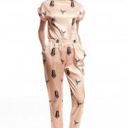 Шелковые брюки ЛБ004-1