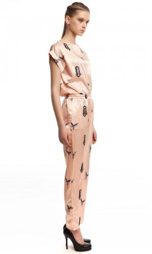 Шелковые брюки ЛБ004-2