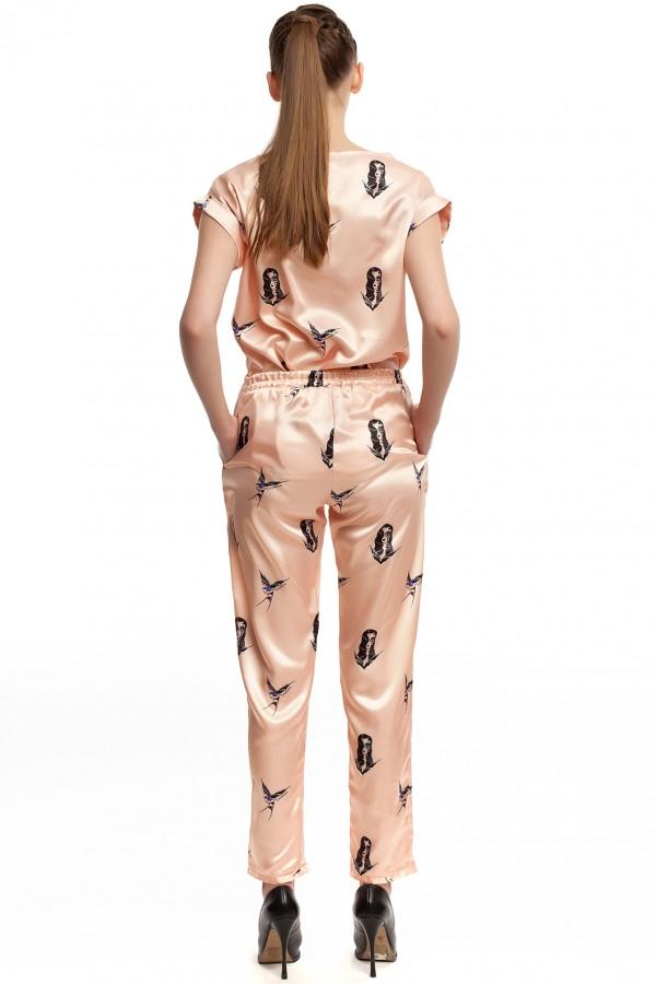 Шелковые брюки ЛБ004-3