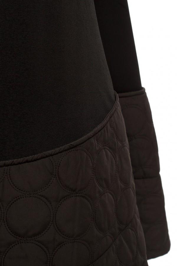 Юбка длинная черная БК008-2-3
