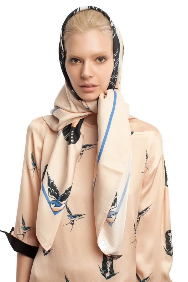 шелковый платок ЛБ018-1
