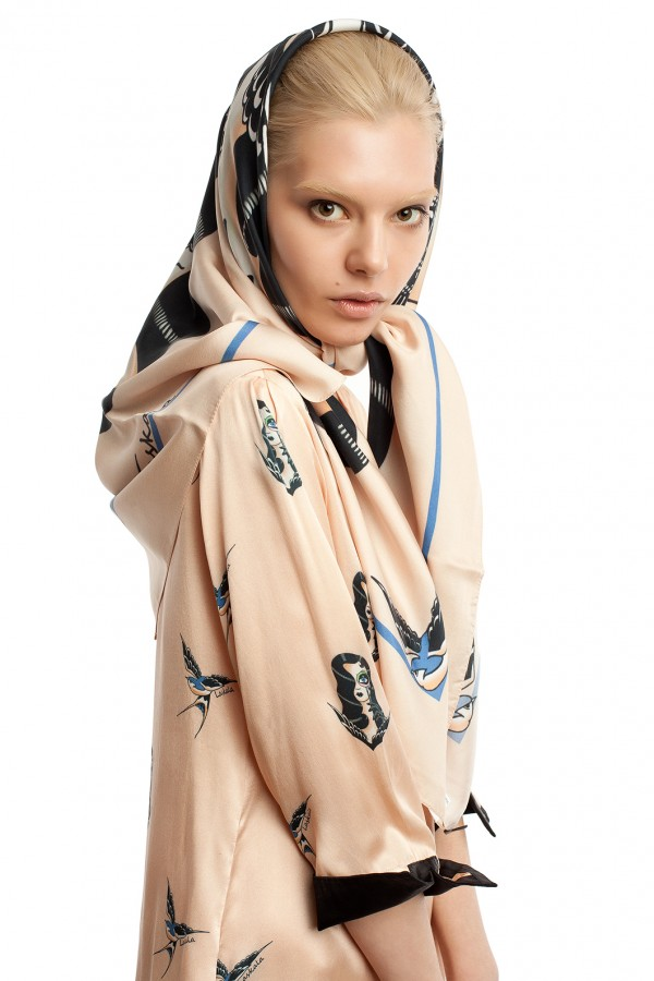 шелковый платок ЛБ018-2